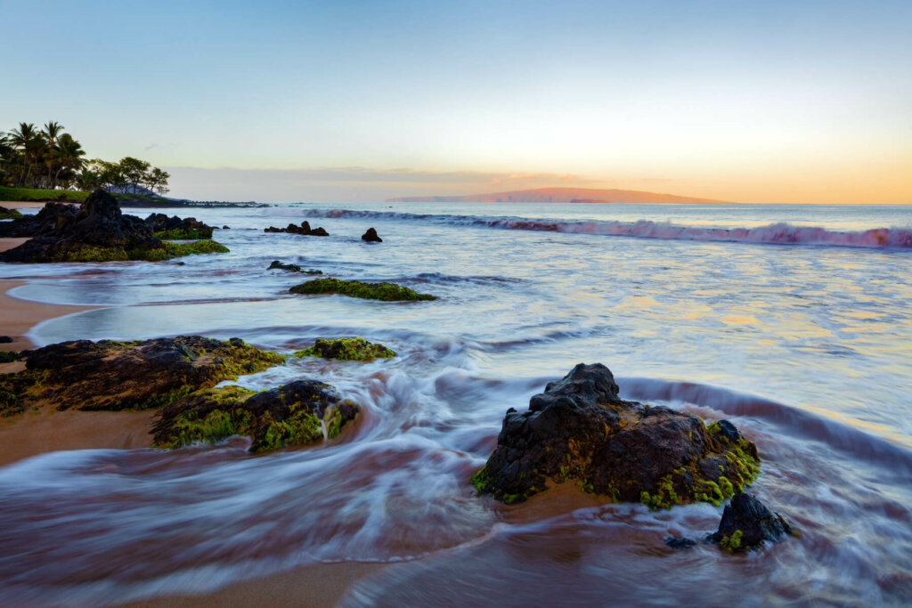 ワイレアの浜辺