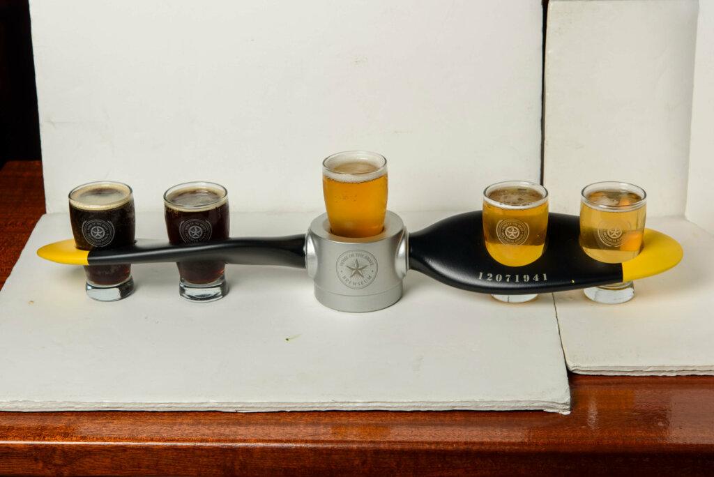 プロペラ型のビールサンプラー