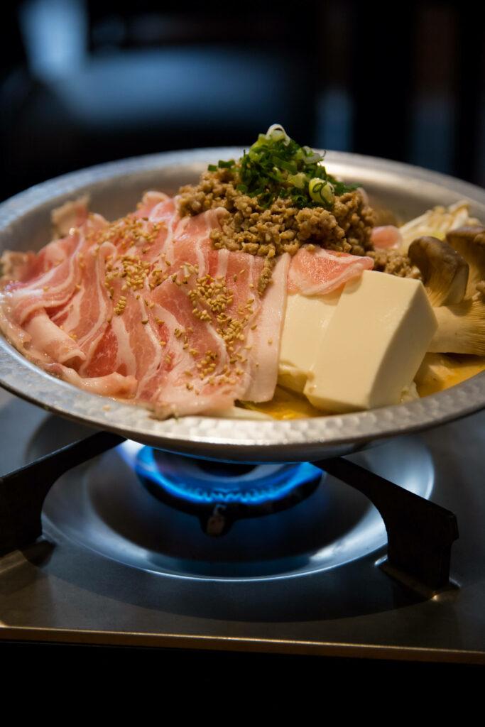 豆乳担々鍋