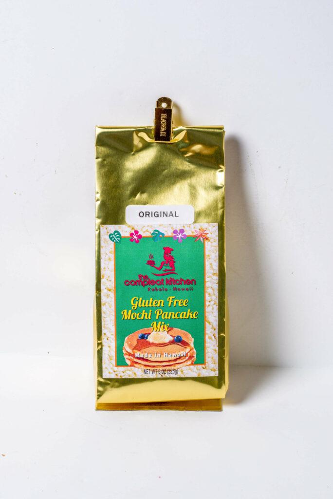 グルテンフリーのモチ・パンケーキ・ミックス