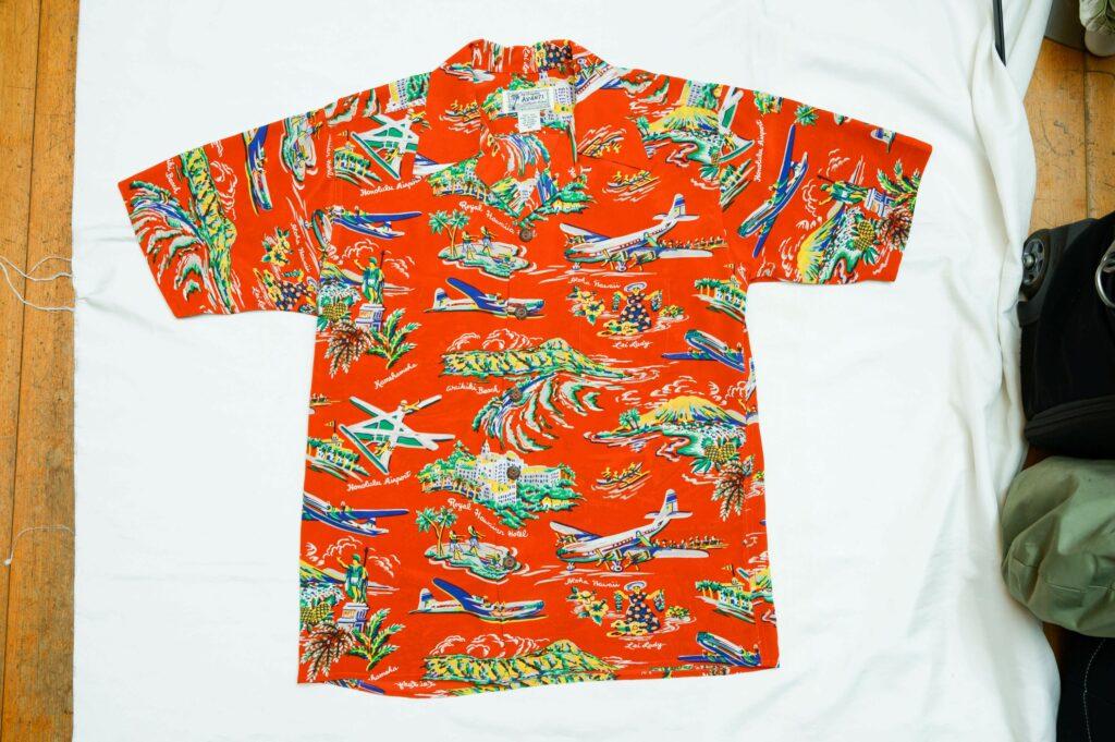 肌の一部のようにしっくりくるアロハシャツを探す