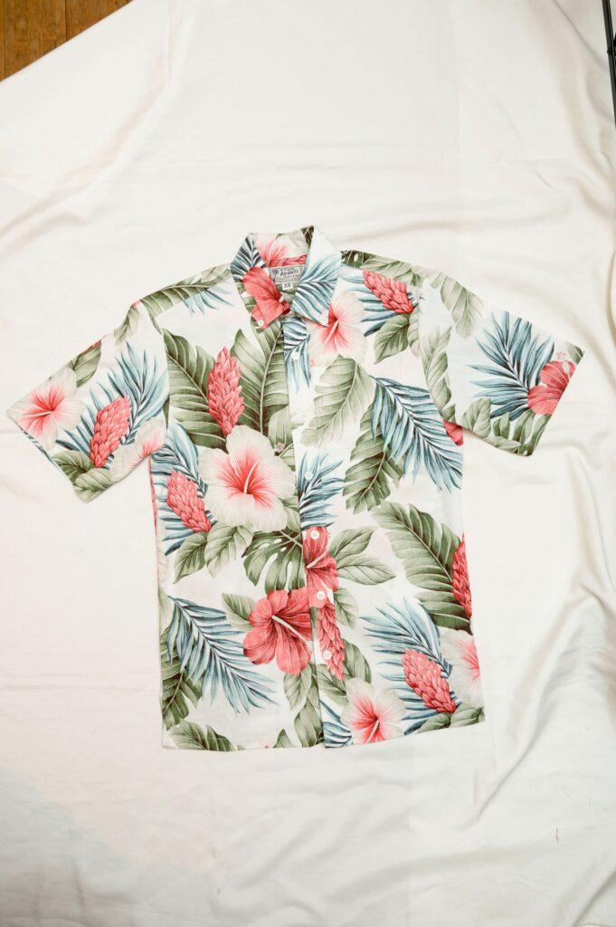 レディス用のアロハシャツ
