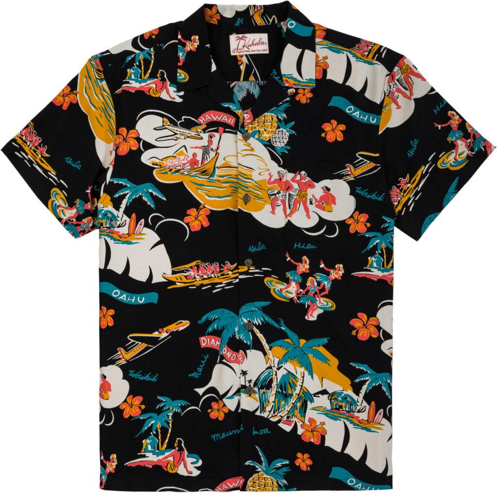 1940年代のデザインを復刻したアロハシャツ