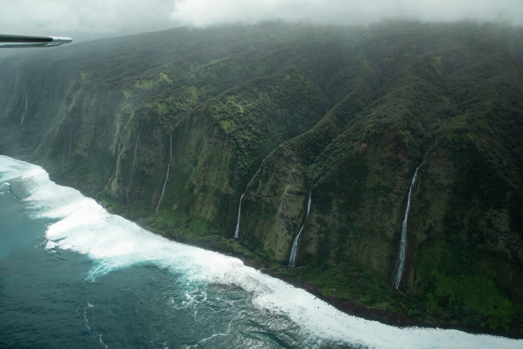 ハマクア・コーストの滝
