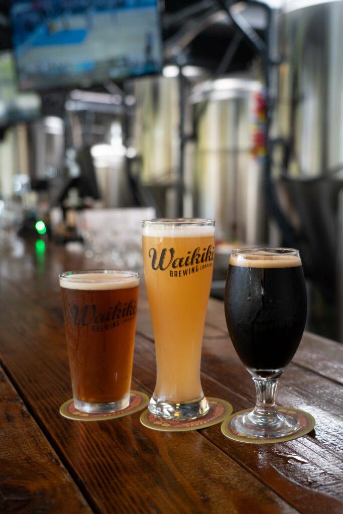 ハワイのクラフトビールを飲み比べ!