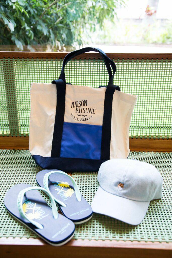 ロゴキャップ、ハワイ限定のビーサンとショッピングトート