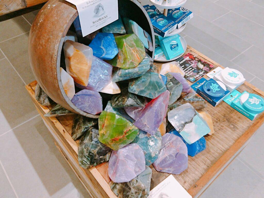 パワーストーン風の石鹸