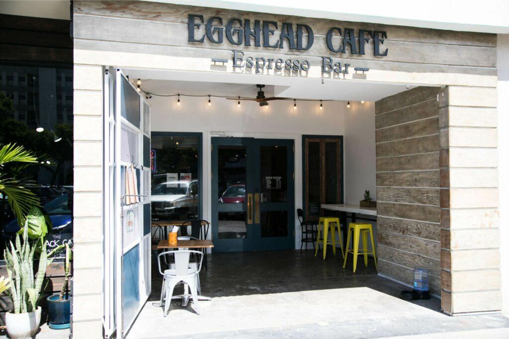 エッグヘッド・カフェ入口