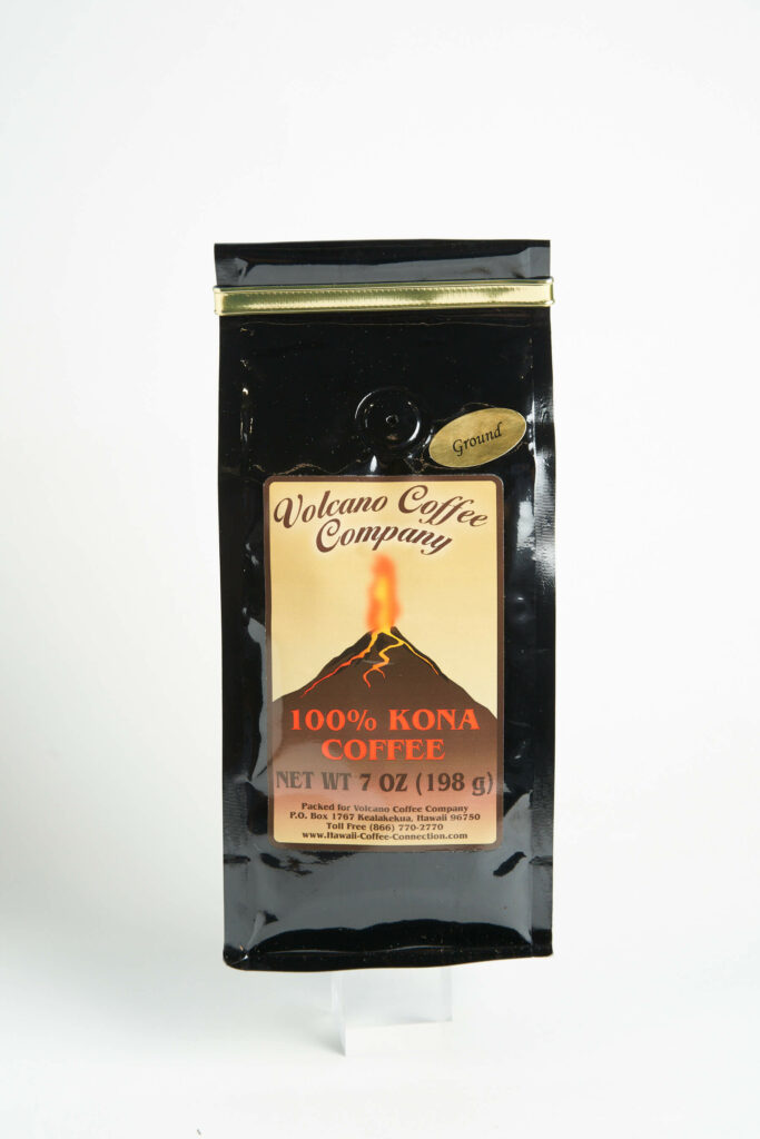 ハワイ島産のコナコーヒー