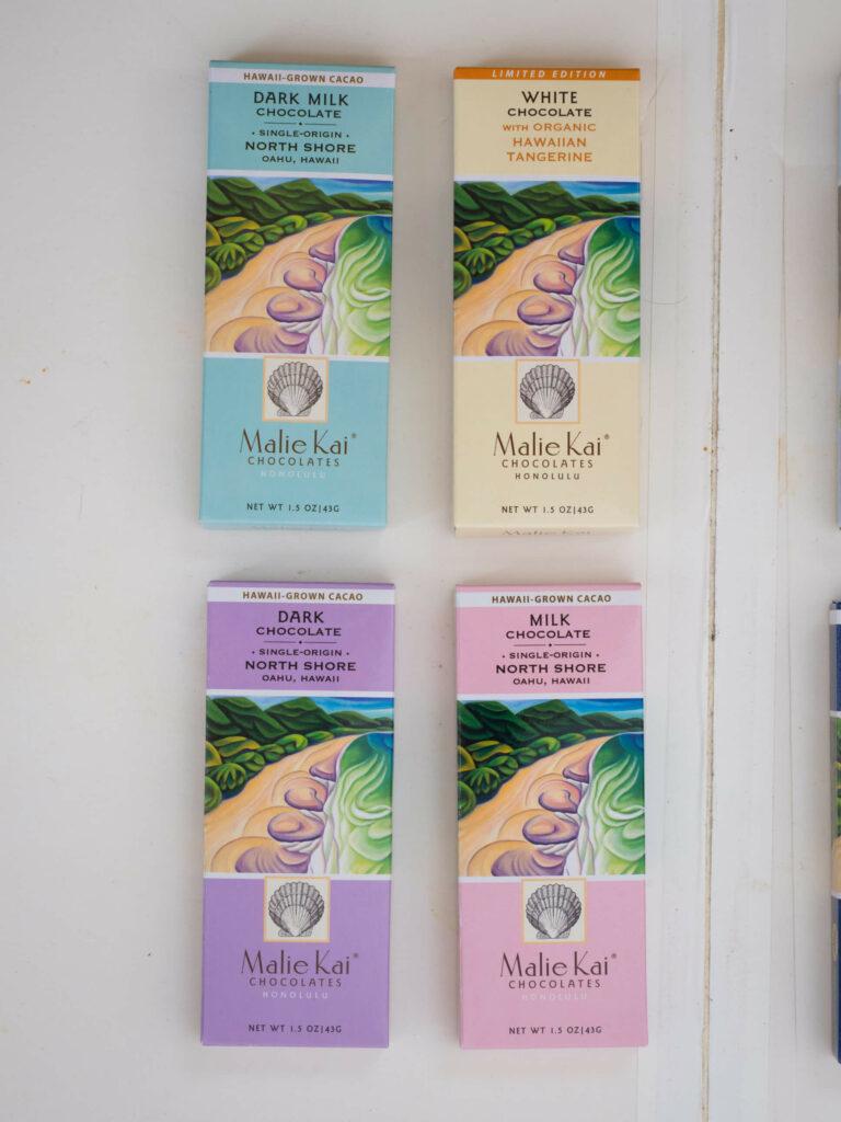 マリエカイチョコレートの商品
