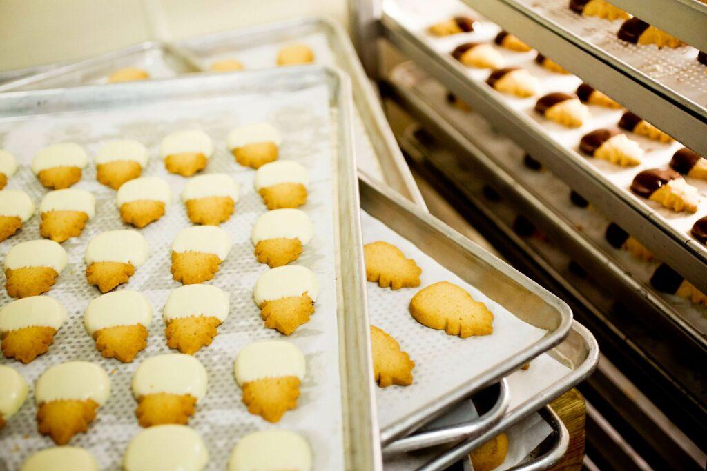 ホノルル・クッキー・カンパニーで作られるクッキー