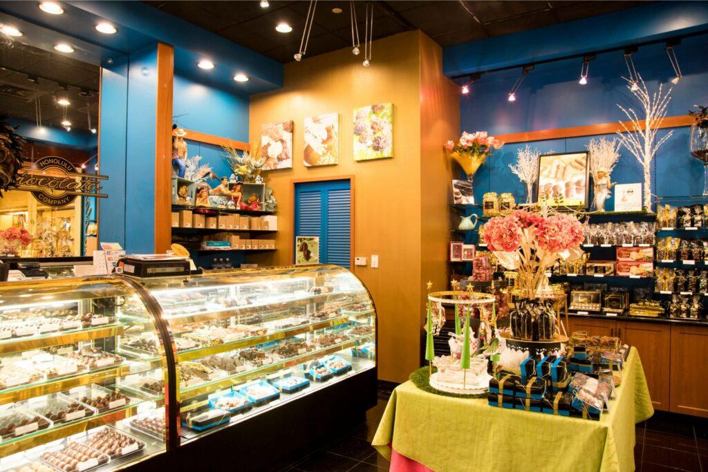 ホノルル・チョコレート・カンパニーの店内