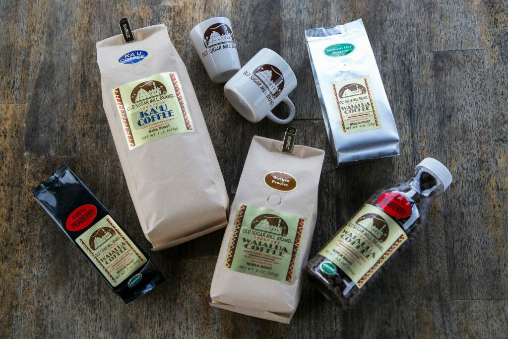 豊富なコーヒー豆