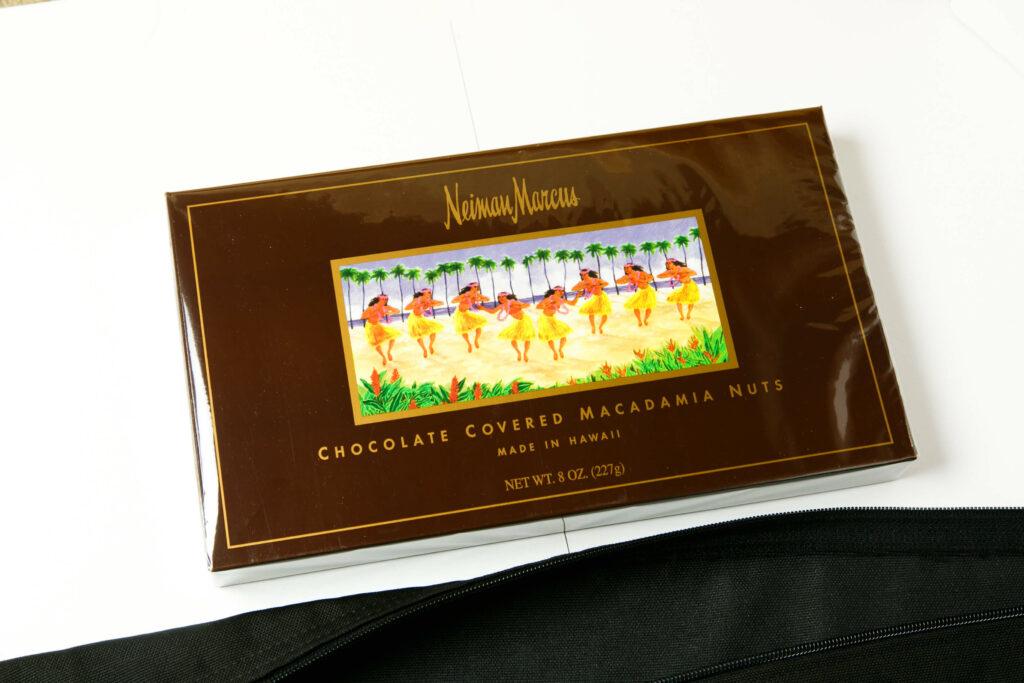ニーマン・マーカスの限定ブランドのチョコ