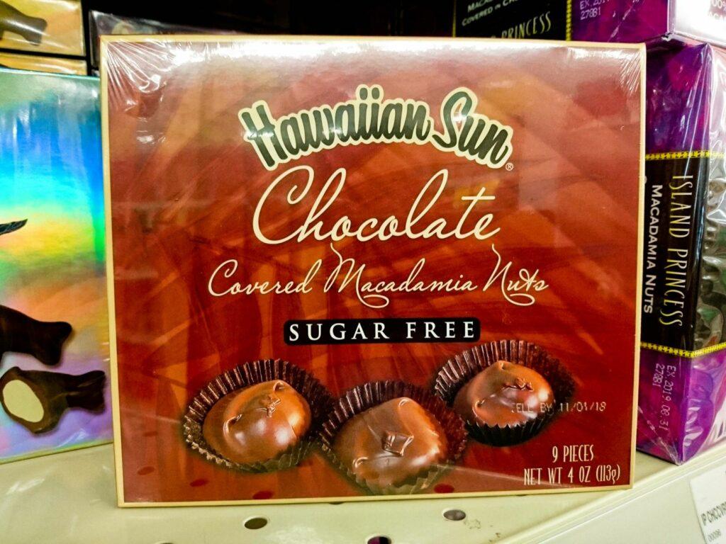 シュガーフリーのチョコレート
