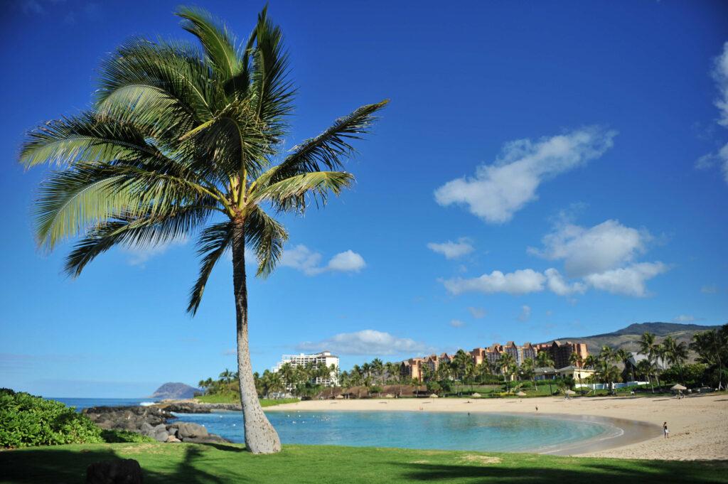 かつてハワイ王室の保養地