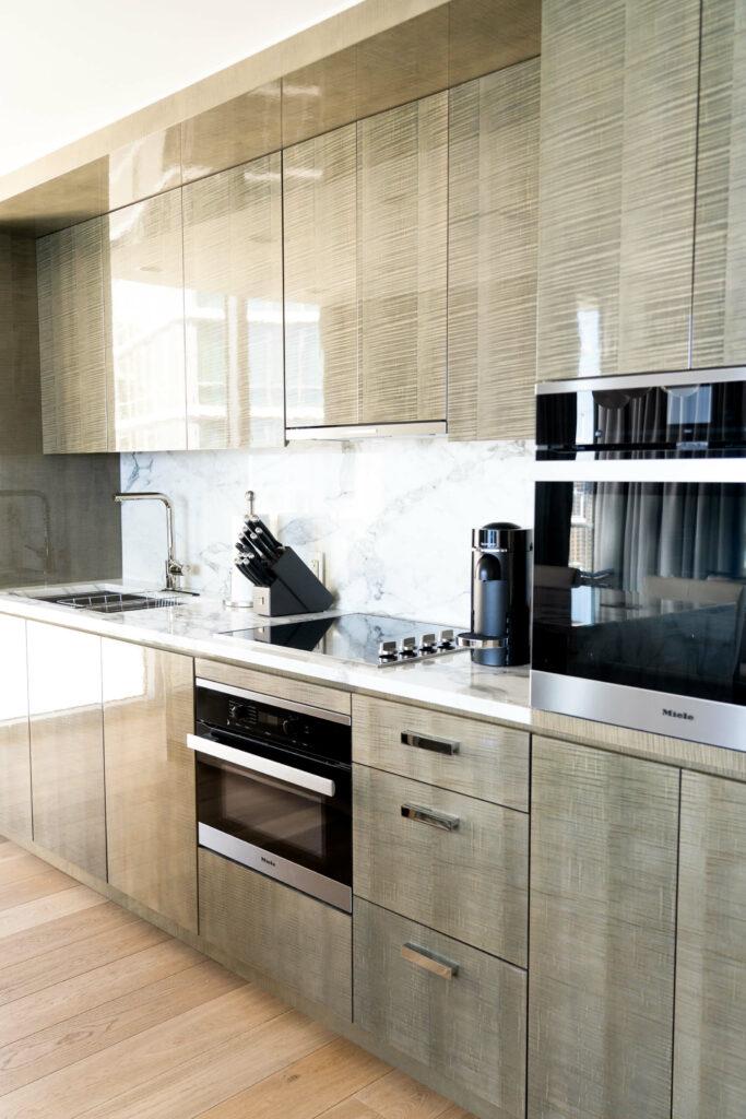 オープンスタイルのキッチン