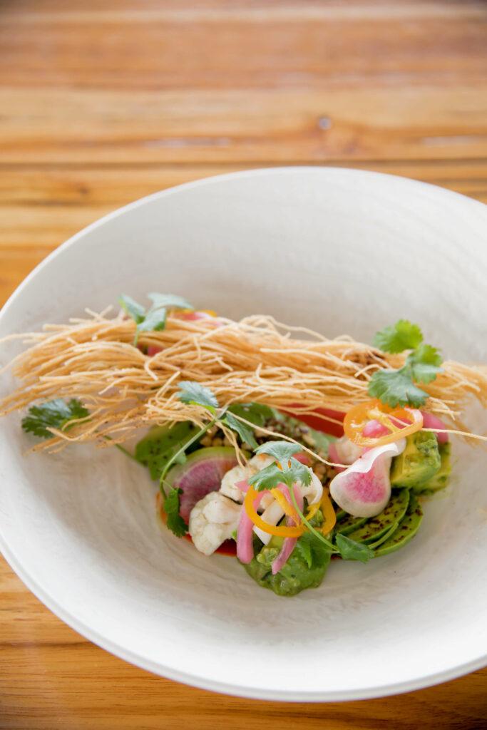 ピクルス野菜のサラダ