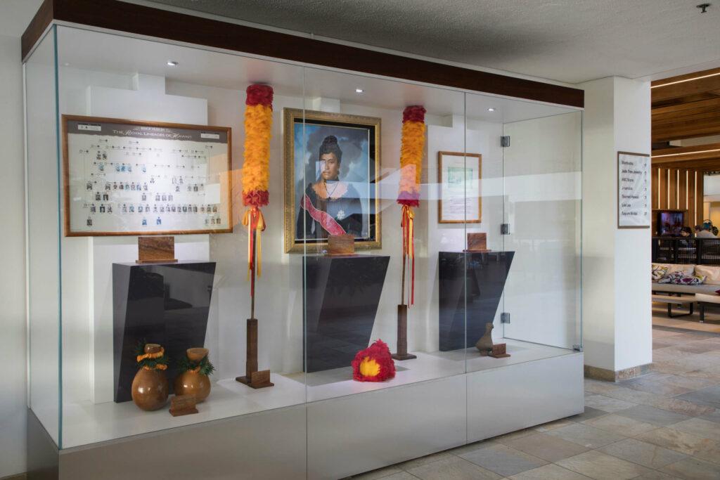 リリウオカラニ女王に関する展示
