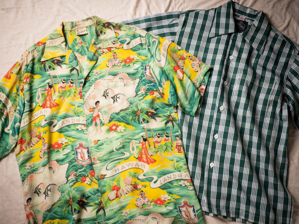 パラカシャツの復刻版とランド・オブ・アロハ